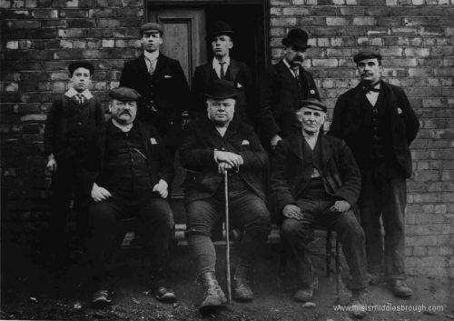 Brotton__D.W._Dixon_and_staff_outside_office__Lumpsey_Mine__1890.jpg