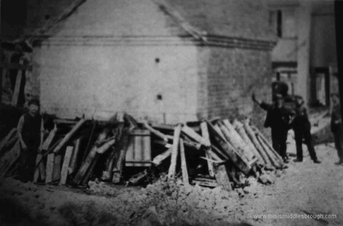 Brotton__felling_the_chimney_at_Lumpsey_Mine_.n.d.jpg