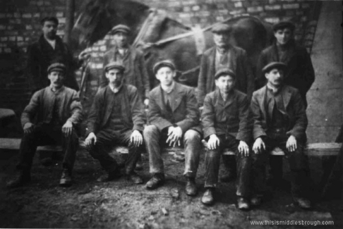 Margrove_Park__Drift__Stanghow_Mines__horse_leaders_and_fitters__1920.jpg