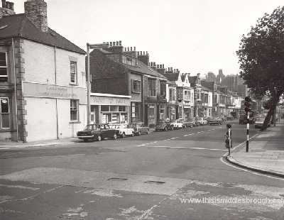 albert road and grange road