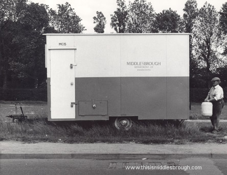 engineering trailer 1970