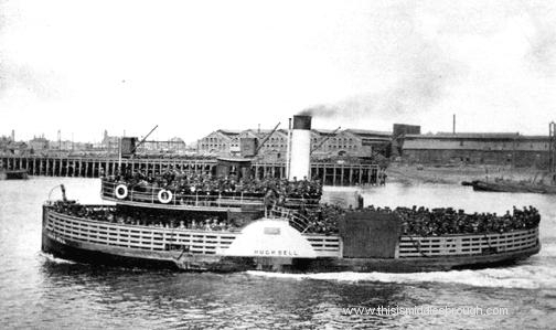 ferry hugh bell on the river tees