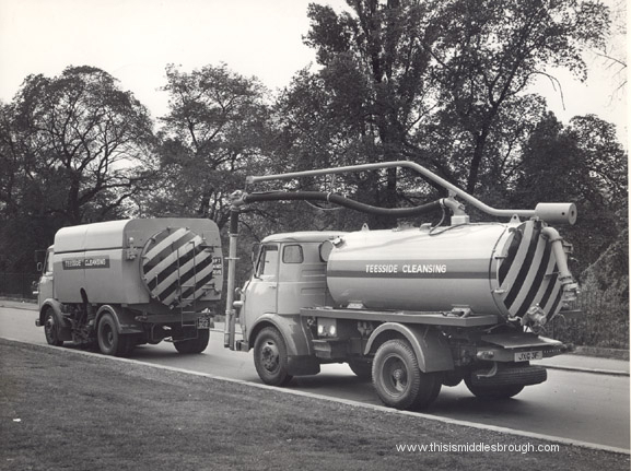 gully and street cleanser 1960