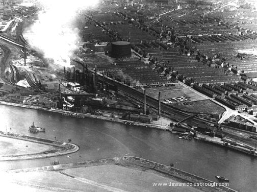 late 1920s view of newport steelworks