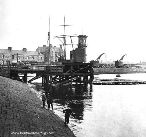 middlesbrough dock and clock tower