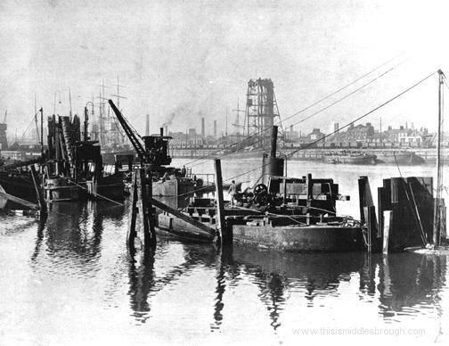 middlesbrough docks in the early 1900s