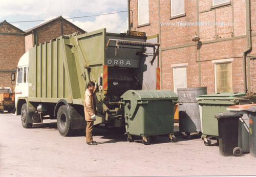 refuse collection 1980